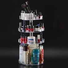 360 Degree Rotating Makeup Organizer