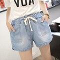 40-100 kg tamaño M-5XL plus Corto Feminino Pantalones Cortos Mujer Pantalones Cortos Pantalones Vaqueros Cortos Mujer d9