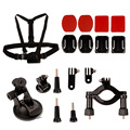 KingMa 4-in-1 Outdoor Sports Action Camera Accessories Kit for GoPro Hero 4/3+/3/2/1 Sony AS15/30/100 Cameras FCCB168 LMPJ