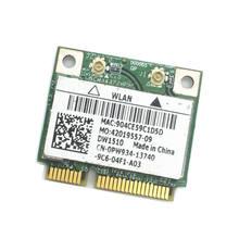 Карта для Dell DW1510 PW934 802,11 ABGN Wireless Half Mini PCI-E BCM94322HM8L Dual Brand