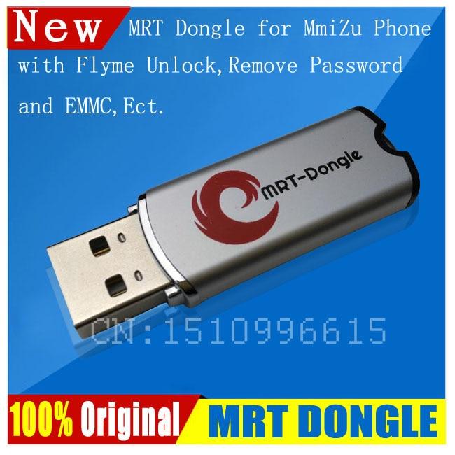 100% 2018 Original MRT DONGLE MRT Dongle para desbloquear la cuenta Meizu Flyme o eliminar la contraseña de activado completamente