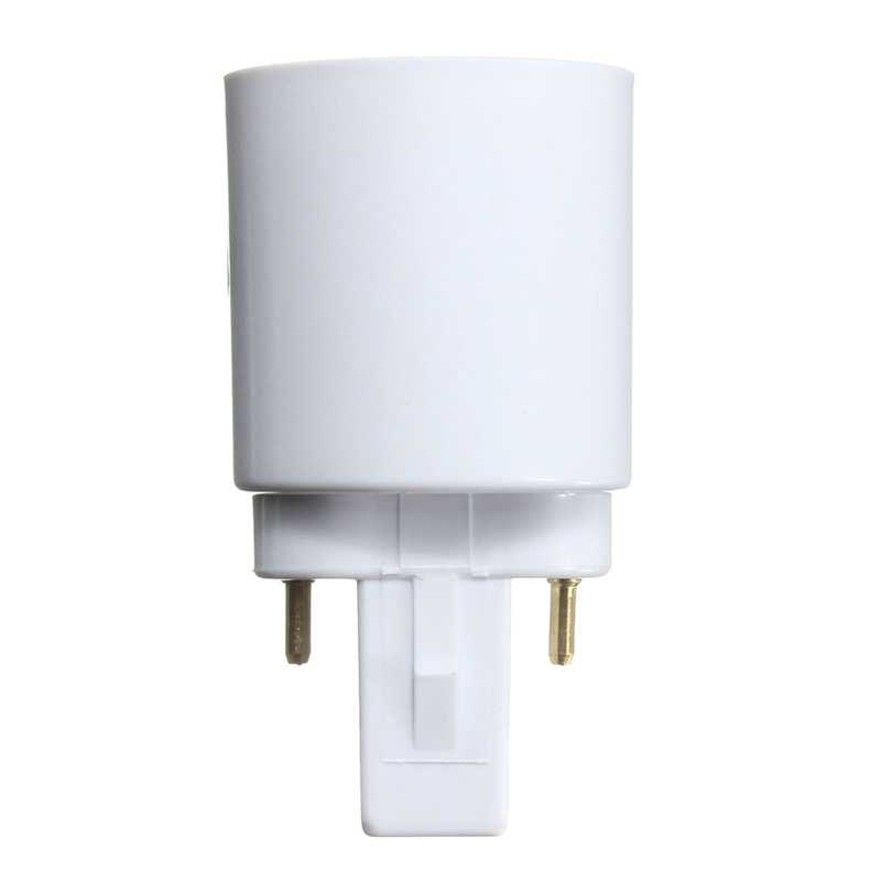 G23 To E27 Base Socket Adapter Holder Converter for LED/ Halogen / CFL Light Bulb lamp 110-240V High Temperature Resistant