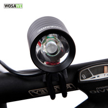 WOSAWE 1200 Lumens 4 Modes XML T6 LED Cycling Front Light Bike Lights Lamp Bicycle Torch Waterproof Flashlight USB Rechargeable