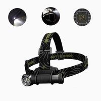 Nitecore HC30 Led Headlamp CREE XM L2 U2 1000 Lumens Full Metal Uniboy Wide beam Optics Head Lamp by 18650 Battery