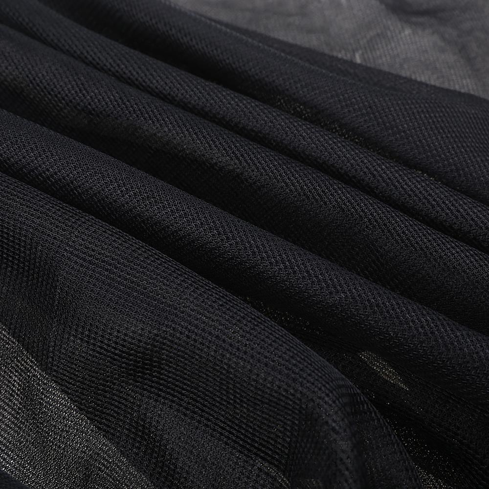 2Pcs Car Sun Visor Rear Side Window Sun Shade Mesh Fabric Sun Visor Shade Cover Shield UV Protector Black Auto Sunshade Curtain 8