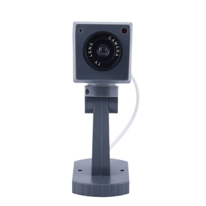Image 5 - Dummy אבטחת LED מסתובב מצלמה תנועה הופעל אור סוללה כוח בית מזויף
