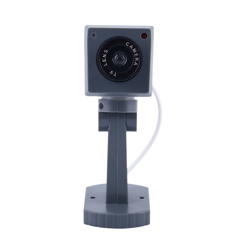 Image 5 - Dummy SECURITY LED Swivel CAMERA Motion Activated Light  Battery Power Home Fake-in Camcorder Lenses from Consumer Electronics