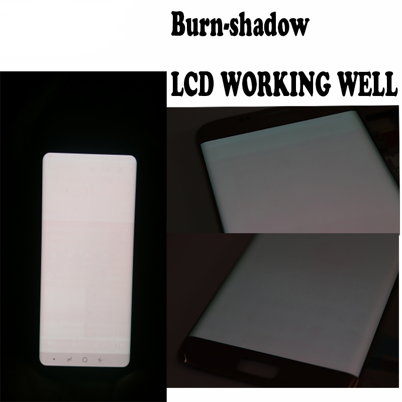 HTB1l4u.a6nuK1RkSmFPq6AuzFXa7 Original Burn-Shadow Replacment For Samsung Galaxy S8 G950F G950U LCD S8 Plus G955 G955F Display Screen Touch Digitizer Assembly