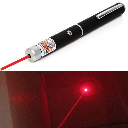5miles 532nm Red Laser Strong Pen Kraftfull 8000M Black Pointer High - Kontorselektronik