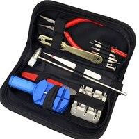 Relógio de pulso Repair Tools Kit Conjunto com Chave Tampa Traseira Caso Abridor De Faca e Faca Bateria Primavera, assistir Reparação Fornecedor WR1001