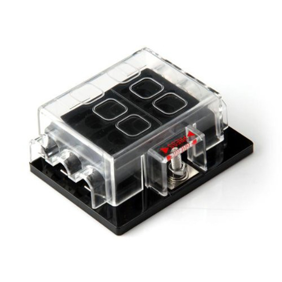 online buy whole blade fuse box from blade fuse box high quality 6 way circuit car truck automotive atc ato blade fuse box holder fuseholder 32v