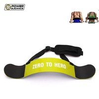 Power Guidance Arm Blaster Adjustable Shoulder Strap Bodybuilding For Weightlifting Training Exercise Fitness Gym Equipment