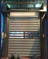 High Speed Door with Hard Metal, Rapid Door, Rolling Door