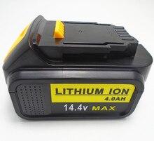 14,4 В Перезаряжаемые литий-ионная батарея pack 5000 мАч для Dewalt беспроводной Электрический дрель шуруповерт DCB140, XR DCB140-XJ, DCB-141