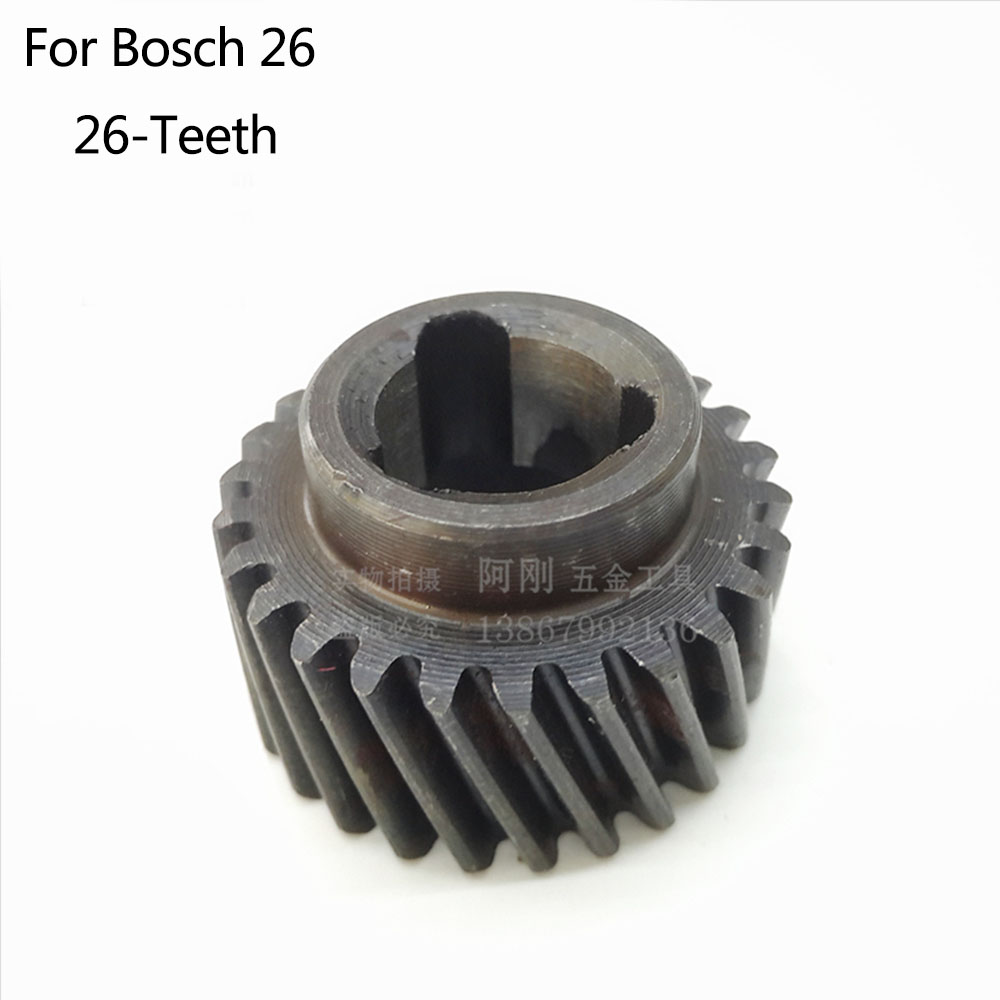 Free Shipping! 26-Teeth Drill Hammer Tool Accessories 087 Gear Shaft  For Bosch 26 , High-quality!