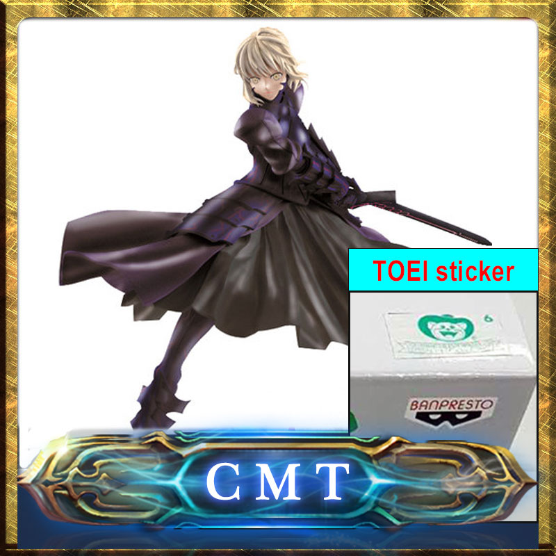 CMT Instock BANPRESTO FATE STAY NIGHT HEAVEN'S FEEL SABER ALTER FIGURE  24cm with original TOEI sticker le fate топ