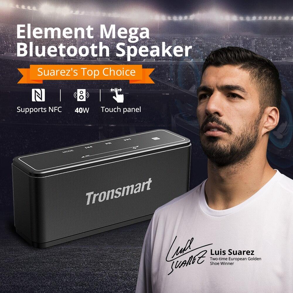 Tronsmart Élément Mega Bluetooth Haut-Parleur Sans Fil Haut-Parleur 3D Digital Sound TWS 40 W Sortie NFC 20 m Portable Haut-Parleur MicroSD carte - 6