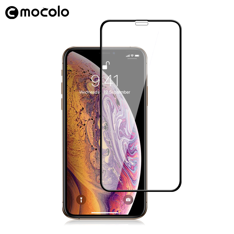 for <font><b>iPhone</b></font> <font><b>XS</b></font> Screen Protector Mocolo Full Cover HD Clear for <font><b>iPhone</b></font> XR 9H <font><b>Film</b></font> for <font><b>iPhone</b></font> <font><b>XS</b></font> MAX Tempered Screen Protector image