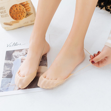 Socks female ultra-thin ship ice silk female south lovely shallow mouth  contact socks feet 9bde2836bef8