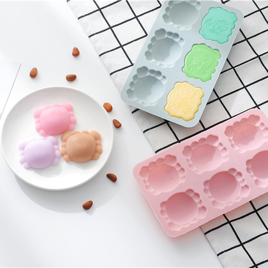 silicone ice cube tray Silicone Shape Cookie Chocolate Mould Ice Tray Mold Baking Tray 3D kichen accessories ice cube maker