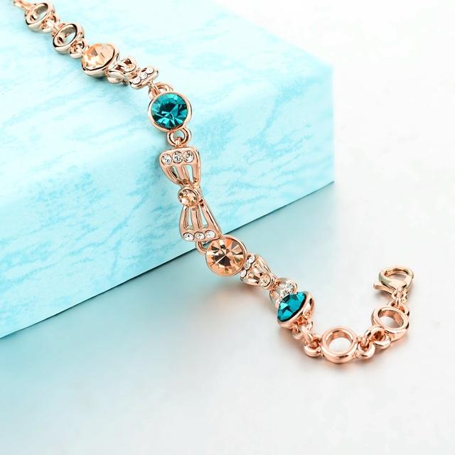 Austrian Royal Blue Crystal Bracelet