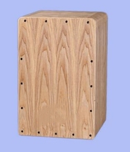 Adult Cajon Drum Fraxinus Mandshurica Plywood Normal Color with foam bag EMS free shipping Musical instruments