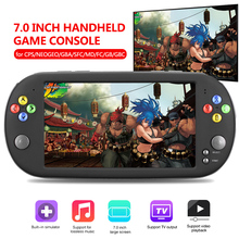 7 screen Portable Handheld Game Console 16GB Video Built in 999 classic games 16 bit Gamepad for FC/GBC/CPS