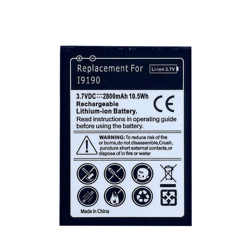 Téléphone Batterie pour Samsung Galaxy S4 mini S 4 mini SIV mini i9195 i9190 I9192 i9198 4 contacts no NFC Rechargeable batteries