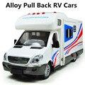 Горячая сплава раздвижные модели RV игрушки, сплав вытяните назад автомобиль, оптовая торговля, бесплатная доставка