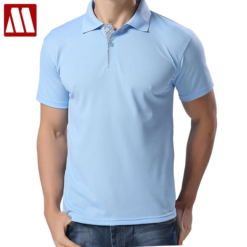 2017 fashion polo man summer solid polo shirt casual polo Man in polo shirt