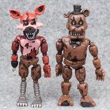 Fünf Nacht Zu Freddy Anime Figur Fnaf Bär Action Figure Pvc Modell Freddy Spielzeug Für Kinder Geschenke