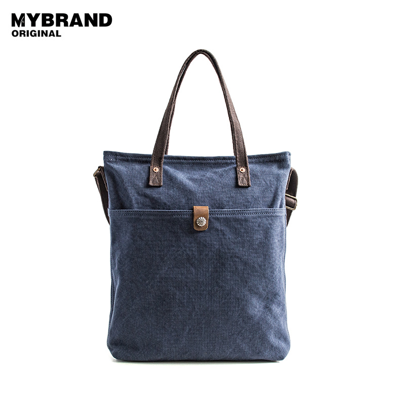 MYBRANDORIGINAL handbag canvas men bag vintage large capacity shoulder bag for man crossbody tote bags b109 vintage crossbody bag dark khaki canvas shoulder bags men messenger bag man casual handbag tote business briefcase for computer