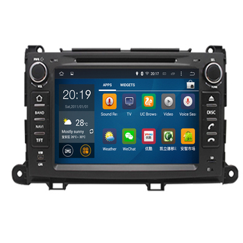 Octa Core 2 Din Android 9.0 Car Radio for Toyota Sienna 2010 2011 2012 2013 2014 GPS Navigation CD DVD Player FM Bluetooth Unit