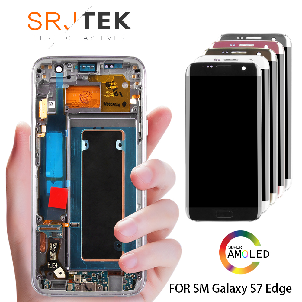 5.5 ORIGINAL AMOLED S7 edge Display For SAMSUNG Galaxy S7 Edge Screen Display Touch with Frame For SASMSUNG S7 Edge LCD G935F5.5 ORIGINAL AMOLED S7 edge Display For SAMSUNG Galaxy S7 Edge Screen Display Touch with Frame For SASMSUNG S7 Edge LCD G935F