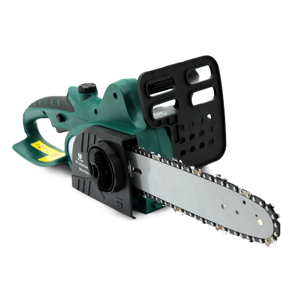 18V Rechargeable small electric chain saw Electric saw Woodworking cutting saw Chain hand saw ET1105 japan makita electric chain saw guide bracket chain plate saw gasoline chain saw guide support plate