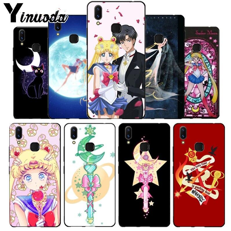 Yinuoda Pretty Guardian Sailor Moon Cartoon Colorful Cute Phone Case For Vivo X20 Plus X21 Ud Nex S X9s V9 V7 Y 83 Case Funda Cellphones & Telecommunications Phone Bags & Cases