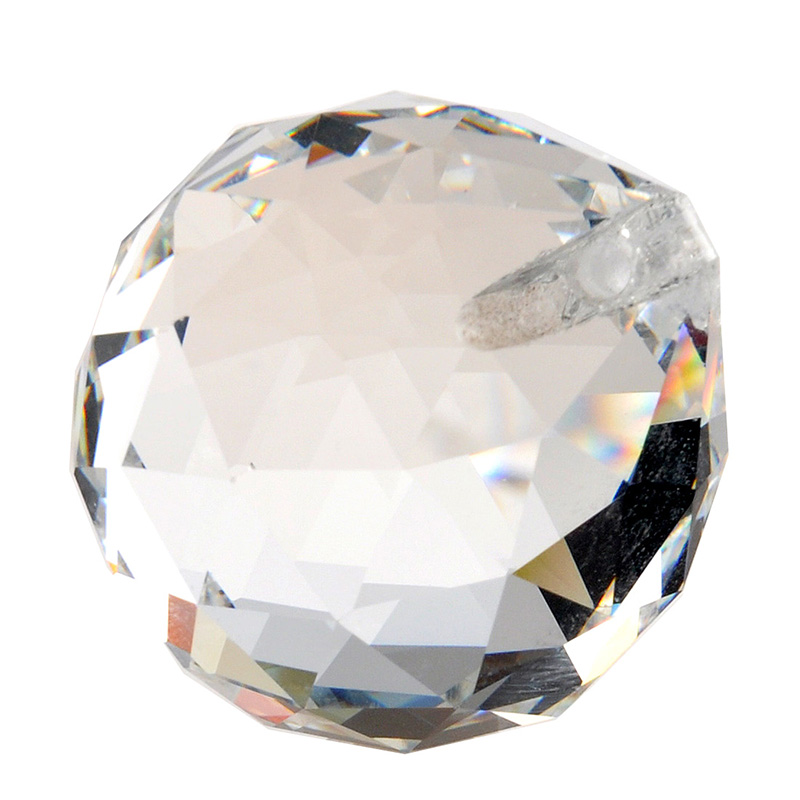 H&D Clear 40mm Faceted Glass Crystal Ball Prism Chandelier Crystal Components Hanging Pendant Lighting Ball Suncatcher Residence Decor ornamental ornamental, ornamental dwelling decor, ornament hanging,Low cost ornamental ornamental,Excessive High...