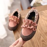 Модные милые туфли на плоской подошве для маленьких девочек; Детские Лоферы для маленьких девочек; повседневные кроссовки со звездами; обув...