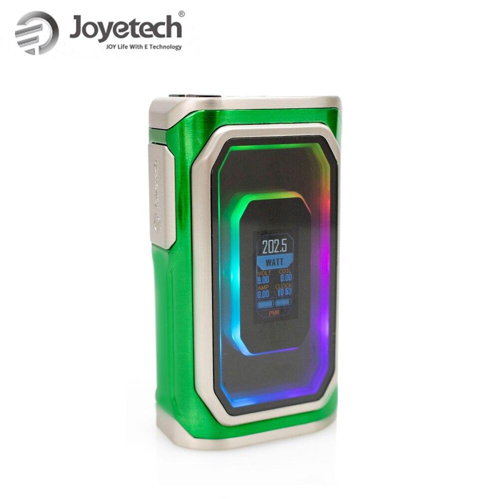 Chaud! Joyetech Original ESPION infini vape seulement Mod (pas de cellule) 230 W alimenté par deux piles 18650 puissance/RTC/TC/TCR modes e-cig