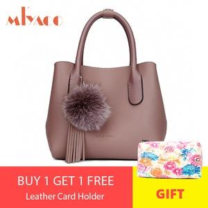 Image 5 - MIYACO Bolso de mano de estilo mensajero para mujer, bolsa de mano femenina, conjunto informal con bolso con flores