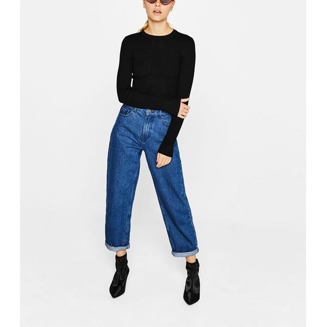 Black Sweater Women Harajuku Kawaii Casual Knitted Long Sleeve Streetwear Turtleneck Pullover Vintage Sweaters Jumpers Sweter
