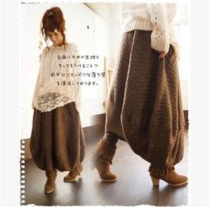 Women's Skirts Linen Folk Cotton Wind of Design Spring-Product Launches Loose Big-Yards