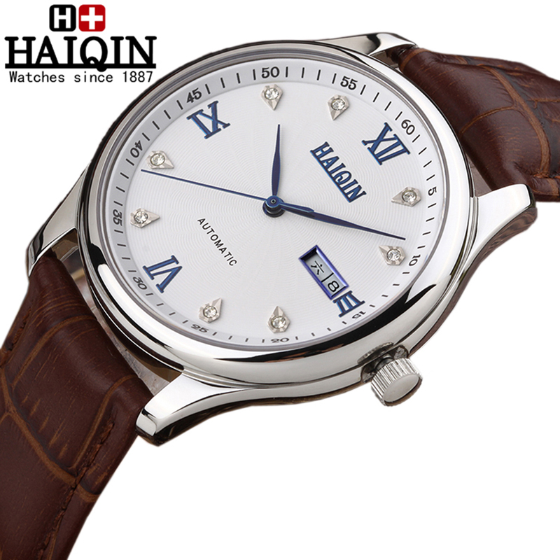 2017 luxury brand haiqin mechanical automatic orologi da for Orologi da parete thun 2016
