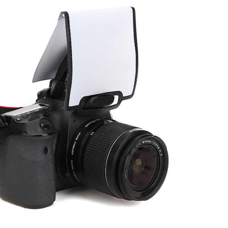 Uniwersalny miękki ekran Pop-zapalić błysk dyfuzor dla Nikon Canon dla sony