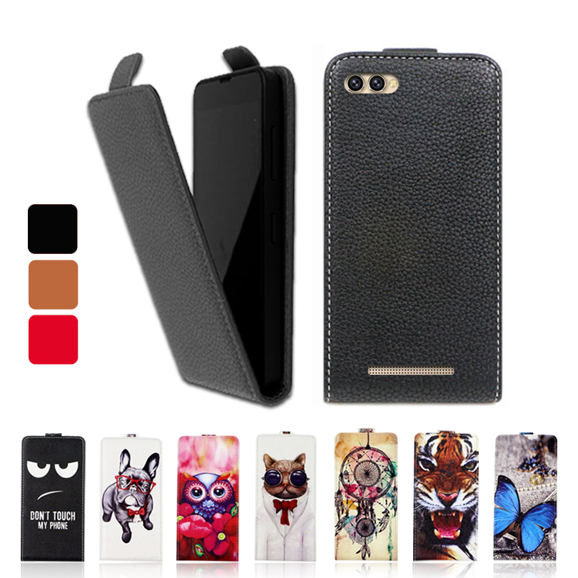 Fashion Cartoon Luxury PU Leather Flip Case UP and Down Cover Special phone case for Doogee X30 X30L
