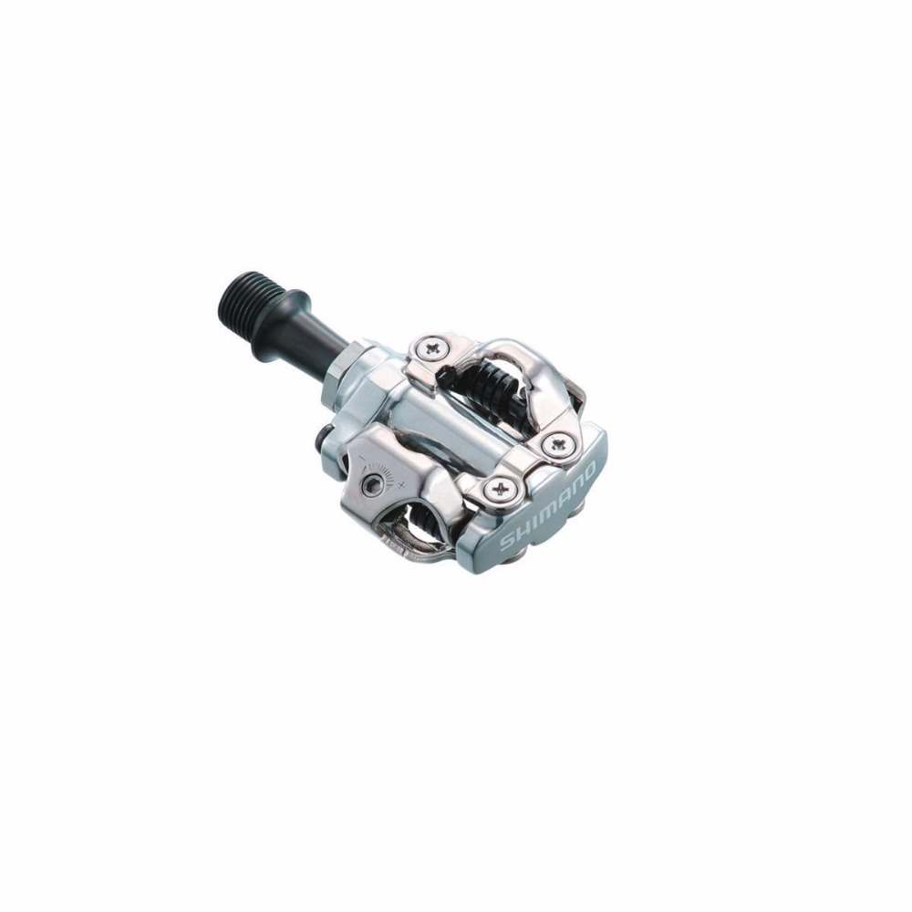 Shimano PD M540 SPD Clipless MTB Pedals & Cleats Silver ultimate pd 9544b silver alu