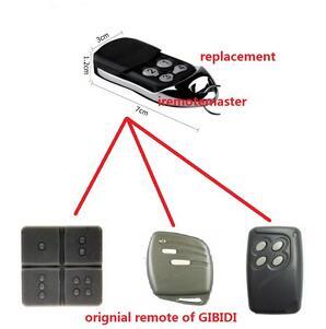 51cf290ab18 Reemplazo para gibidi AU1600, gibidi Domino compatible multi puerta o  garaje control remoto de alta calidad