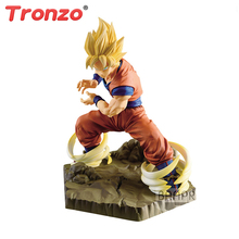 Tronzo Original Dragon Ball Z DBZ Absolute Perfection Figure SSJ Goku Ultra Instinct Figure Christmas 2018
