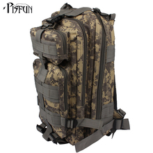 Pisfun 35L Military Tactical Backpack Oxford 3P Bags Tactical Backpack Outdoor Sports Bag Hunting Camping Climbing Fishing Bags