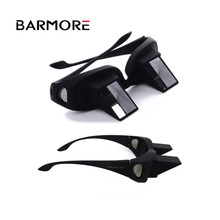Barmore 2018 Laziness glasses on bed Mirror reading glasses Plastic Funny Lazy Periscope Horizontal Reading TV Sit View Glasses
